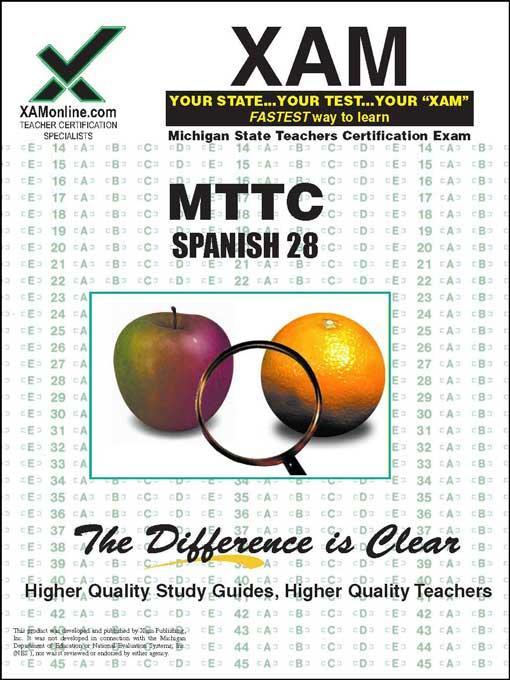 MTTC Spanish 28 EB9781607878605