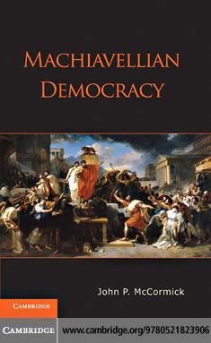 Machiavellian Democracy EB9781139005630