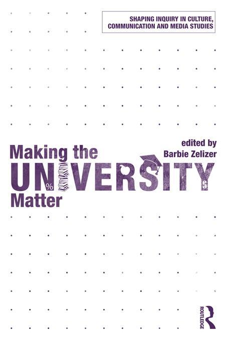 Making the University Matter EB9781136696930