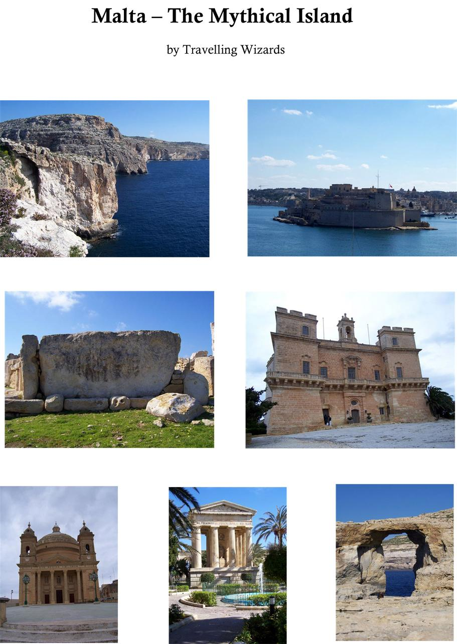 Malta - The Mythical Island EB9781460921012