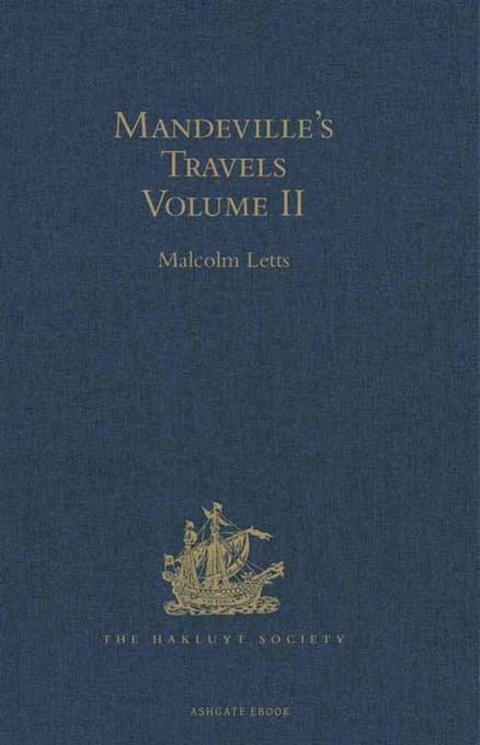 Mandeville's Travels: Texts and Translations Volume II EB9781409417071
