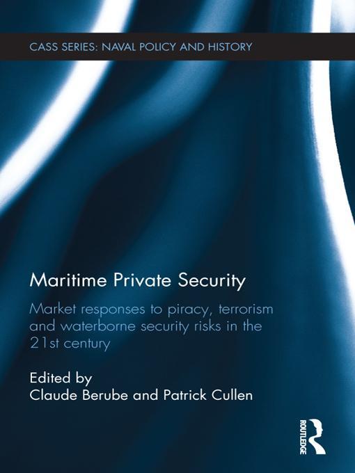 Maritime Private Security EB9781136457197