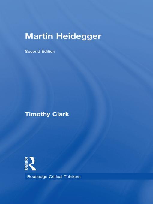 Martin Heidegger EB9781136815379
