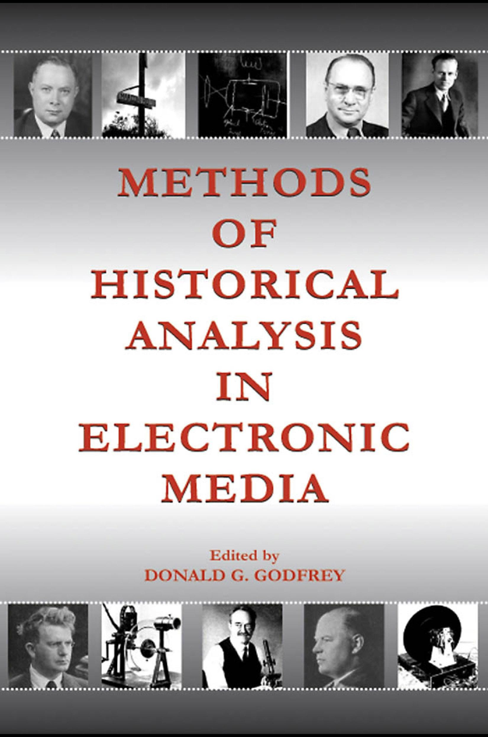 Methods of Historical Analysis in Electronic Media EB9781410617156