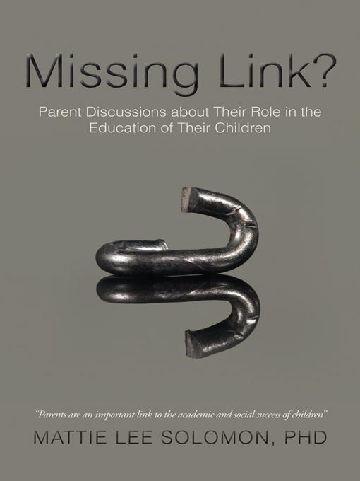 Missing Link?: Parent Discussions about Their Role in the Education of Their Children