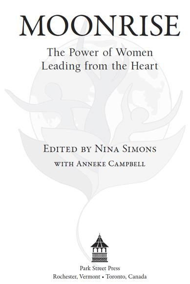Moonrise: The Power of Women Leading from the Heart EB9781594779015