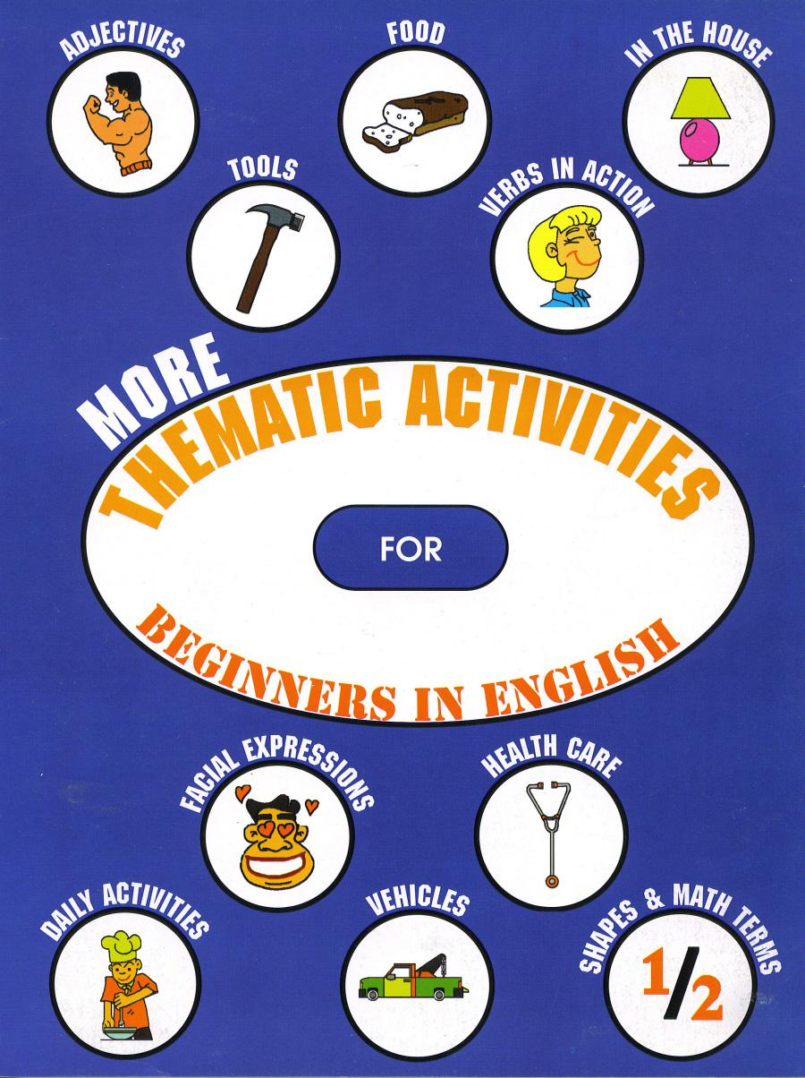 More Thematic Activities for Beginners in English EB9781926679433