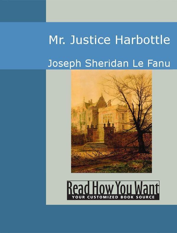 Mr. Justice Harbottle EB9781442938175