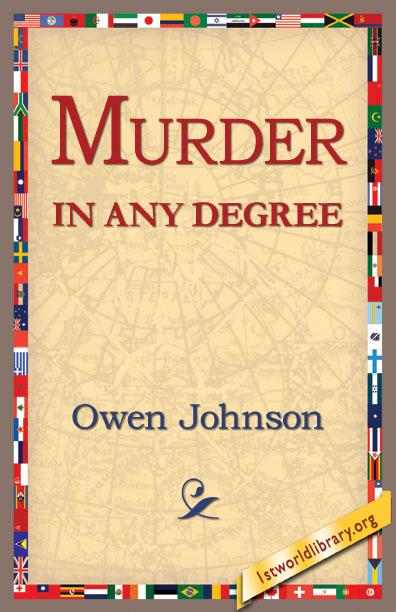 Murder in Any Degree EB9781421805764