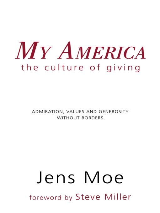 My America: The Culture of Giving EB9781462031306