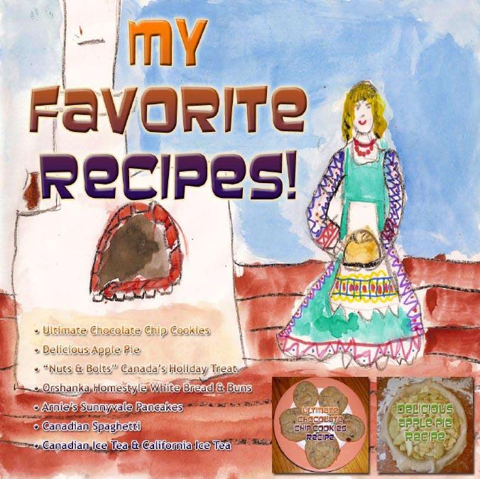 My Favorite Recipes - Arnold Vinette - Version 1 - Nov 2009 - English EB9781414904689