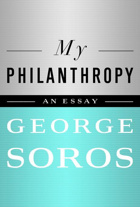 My Philanthropy EB9781610392709