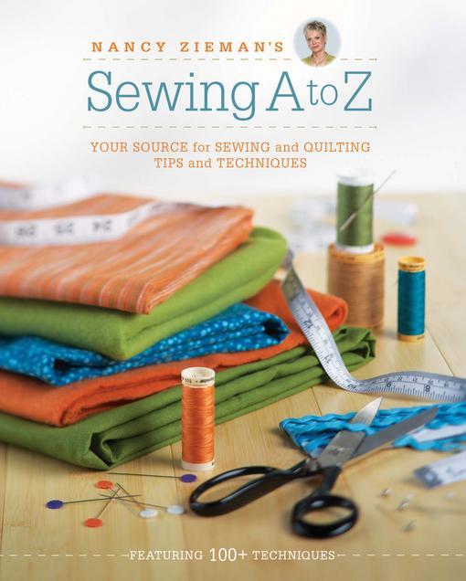 Nancy Zieman's Sewing A to Z EB9781440228858