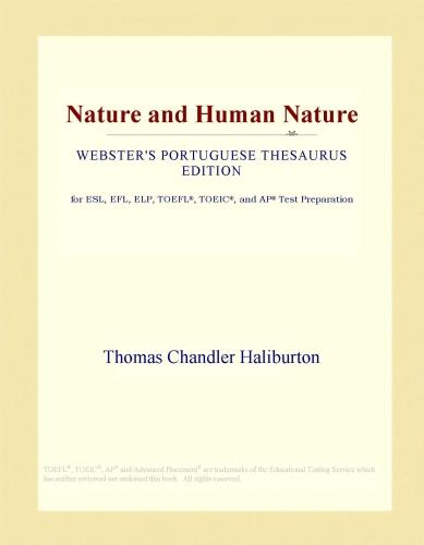 Nature and Human Nature (Webster's Portuguese Thesaurus Edition) EB9781114526983