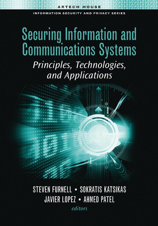 Network Security: Chapter 8 from Securing Information and Communication Systems EB9781596936133
