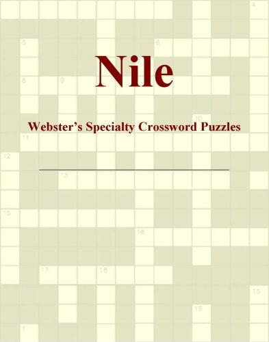 Nile - Webster's Specialty Crossword Puzzles EB9781114010703