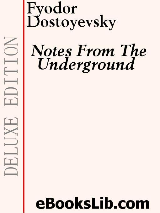 Notes From The Underground EB9781554433469