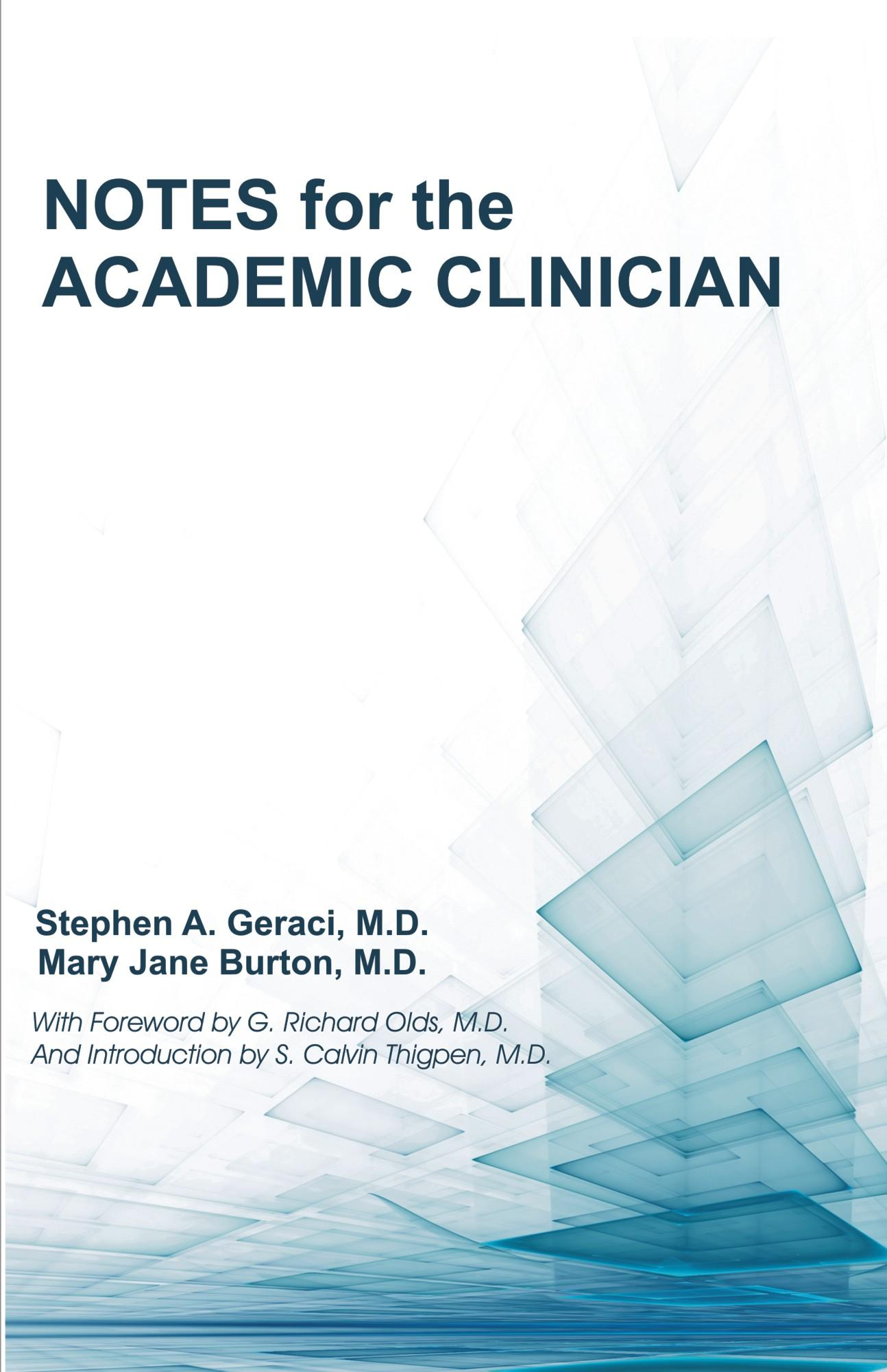 Notes for the Academic Clinician EB9781612330839