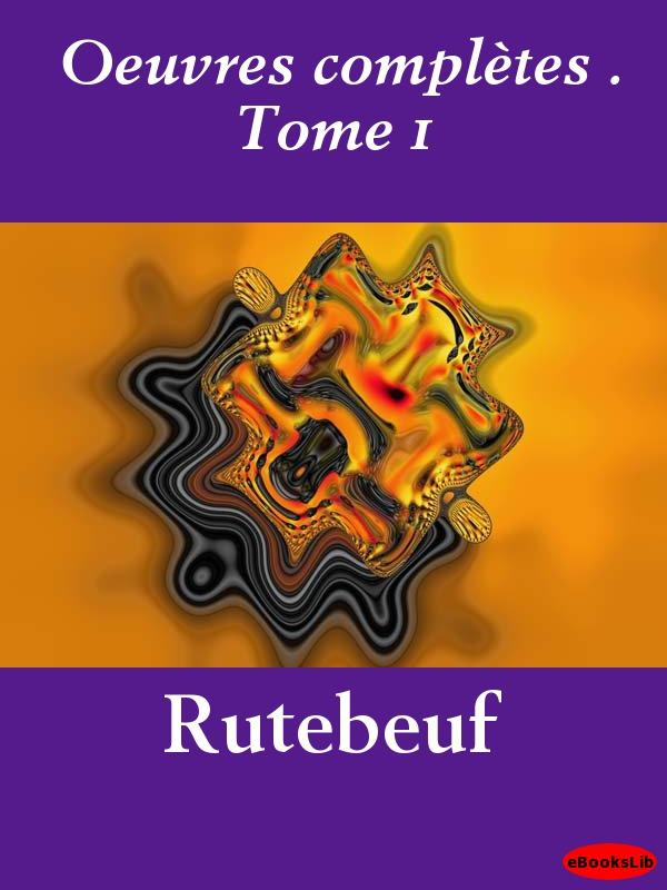 Oeuvres compl?tes . Tome 1 EB9781412195669