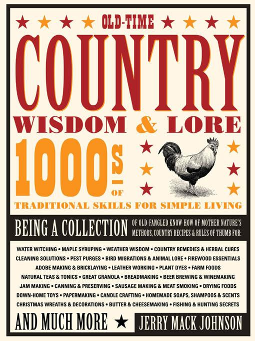 Old-Time Country Wisdom & Lore EB9781610602518