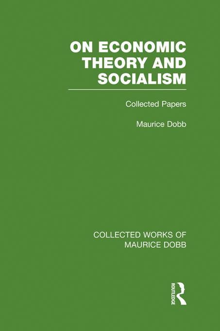 On Economic Theory & Socialism EB9781136324055