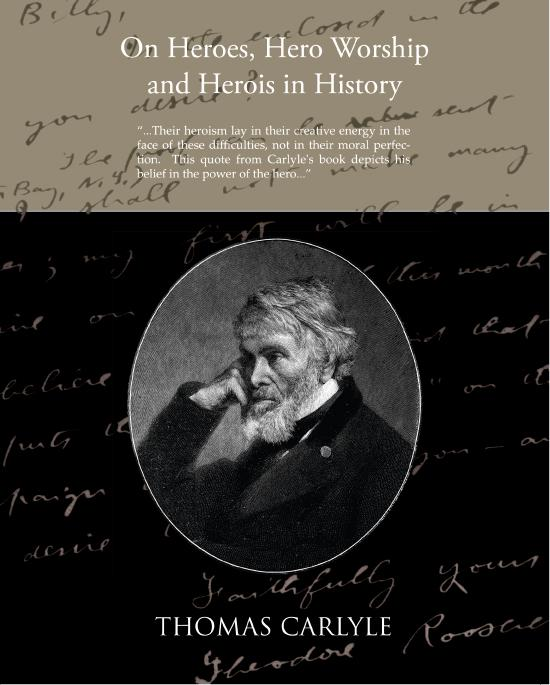 On Heroes Hero Worship and Herois in History EB9781438552392