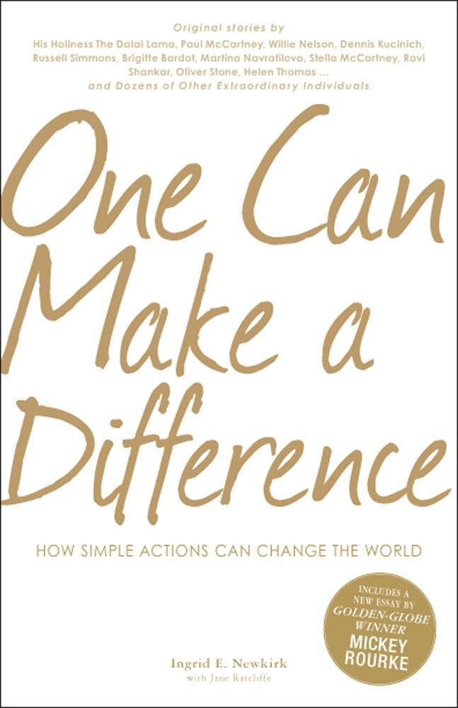 One Can Make a Difference EB9781440515330