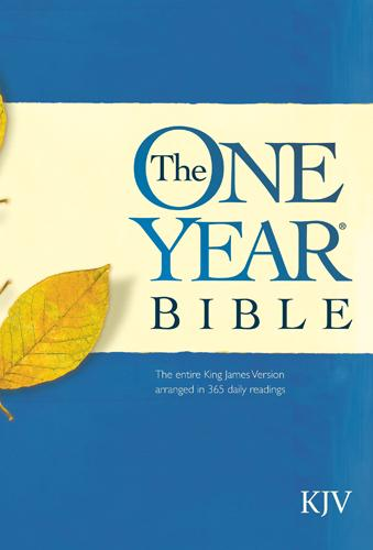 One Year Bible-KJV EB9781414371856