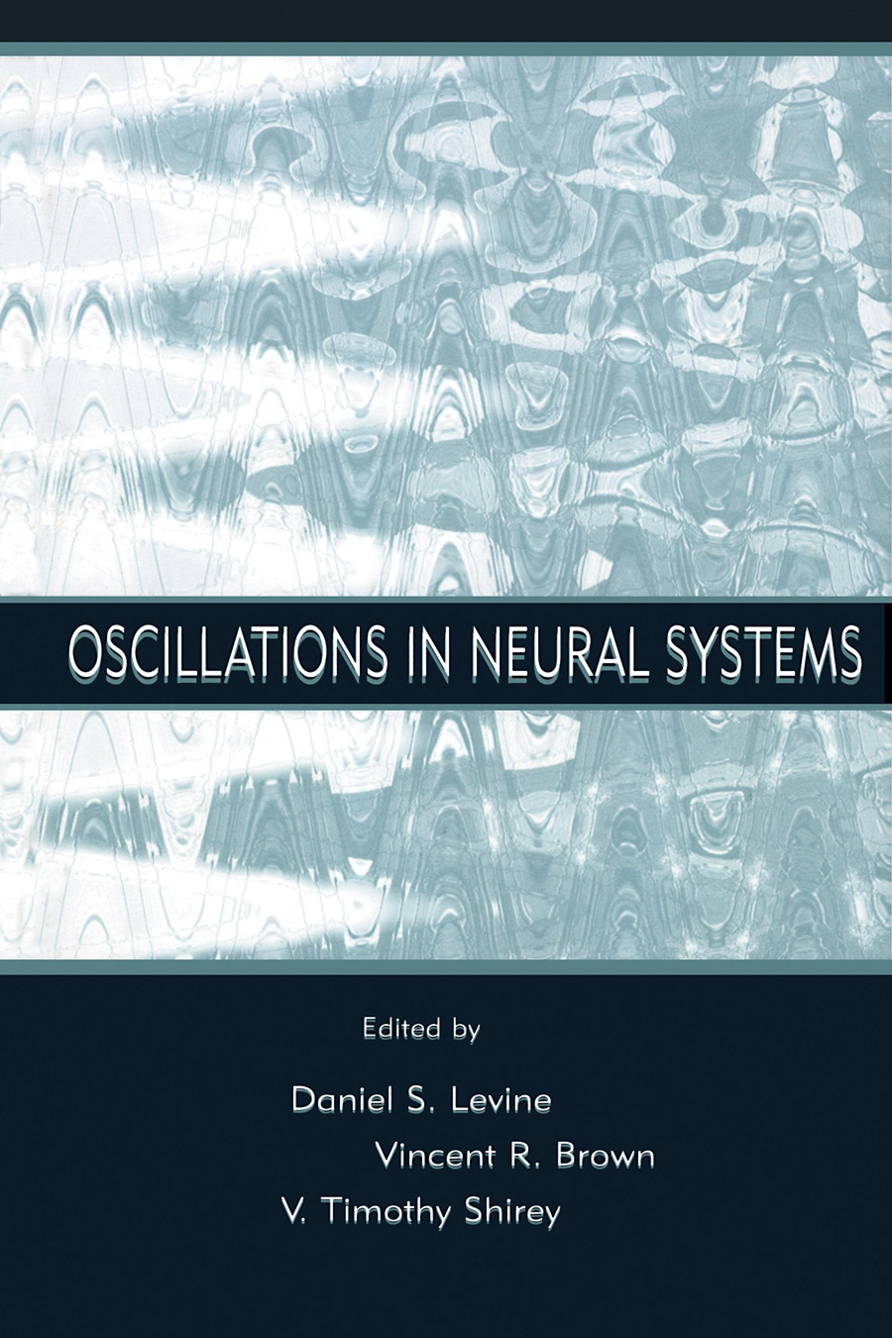 Oscillations in Neural Systems EB9781410603272