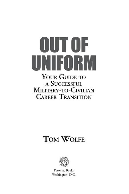 Out of Uniform EB9781597977203