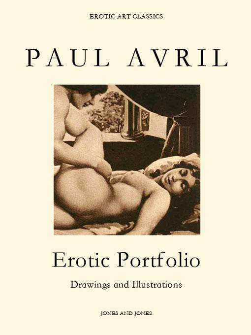 PAUL AVRIL, Erotic Portfolio, Drawings and Illustrations EB9781440462849