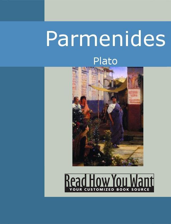 Parmenides EB9781442941700