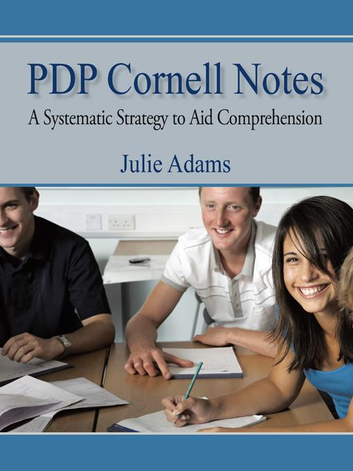Pdp Cornell Notes: A Systematic Strategy to Aid Comprehension EB9781450245944
