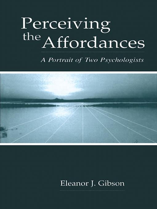 Perceiving the Affordances EB9781410604248
