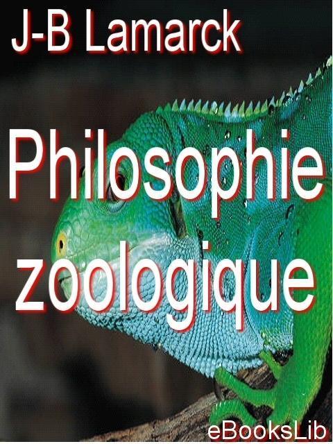 Philosophie zoologique EB9781412173490