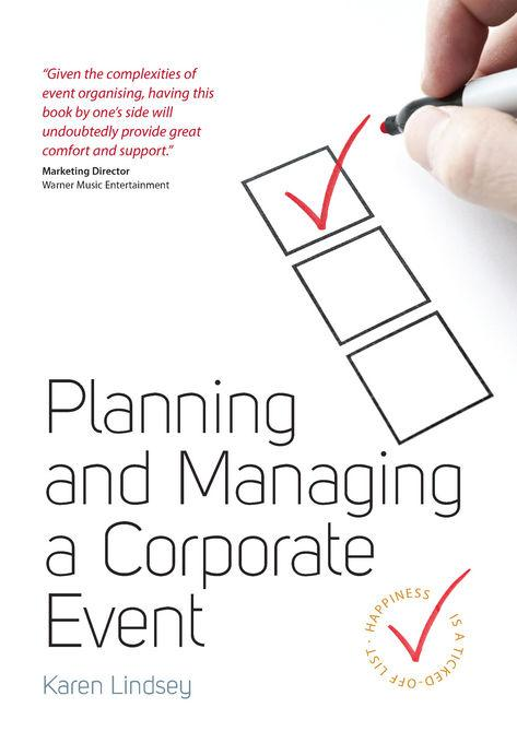 Planning and Managing a Corporate Event EB9781848033962