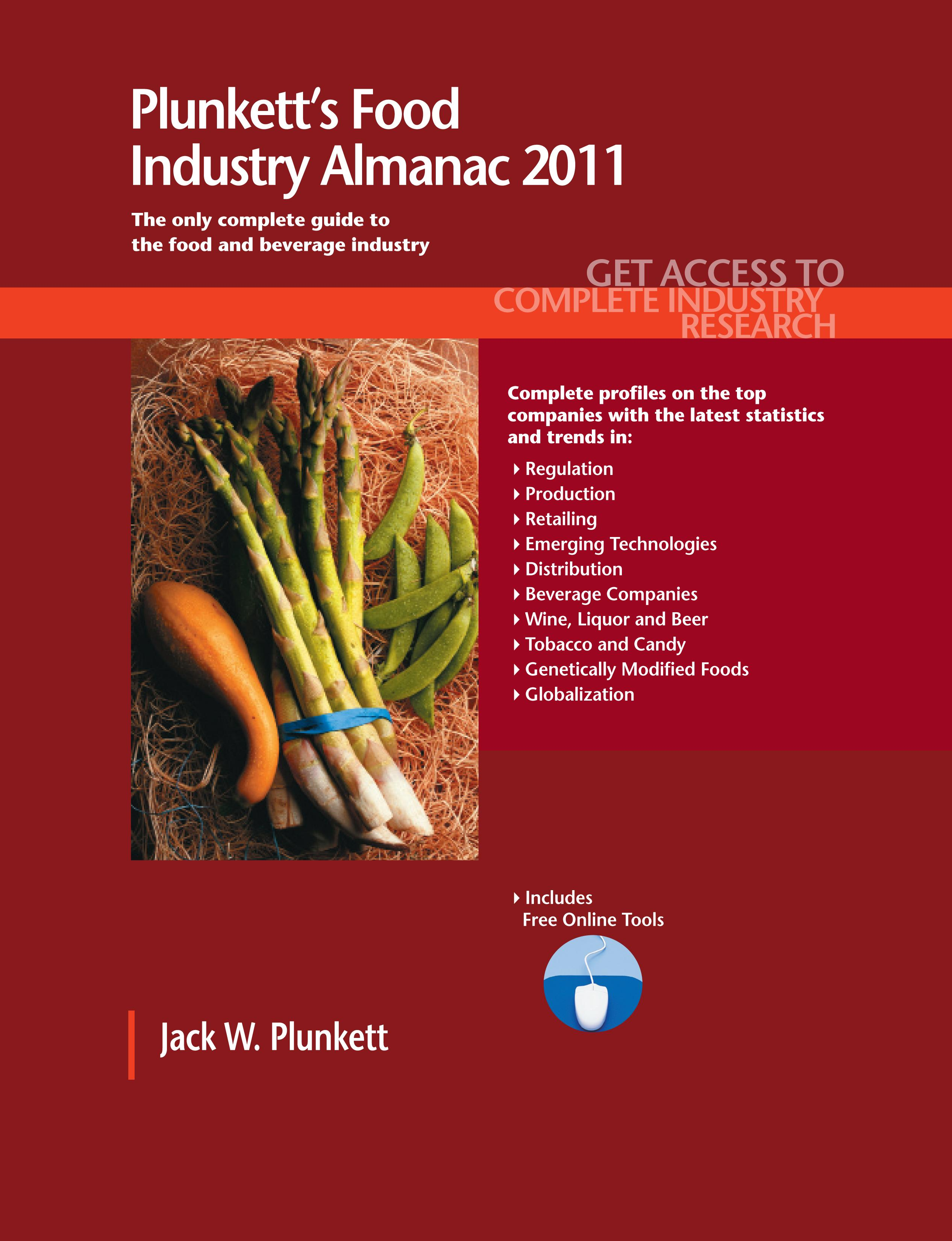 Plunkett's Food Industry Almanac 2011 EB9781593925079