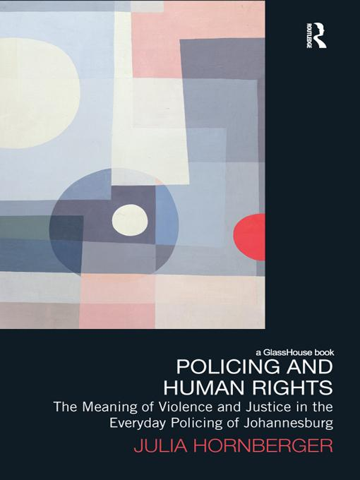 Policing and Human Rights EB9781136746987