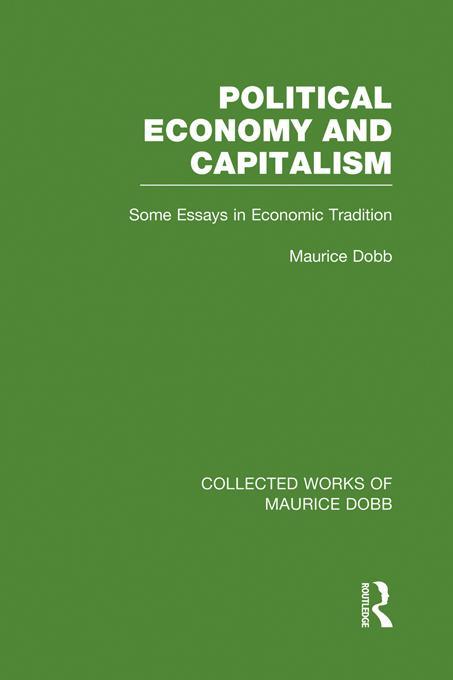 Political Economy and Capitalism EB9781136323911