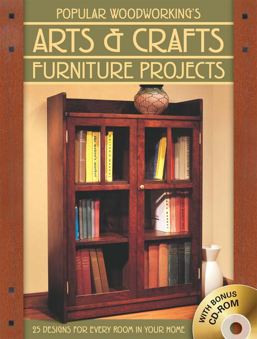 Popular Woodworking's Arts & Crafts Furniture EB9781440319891