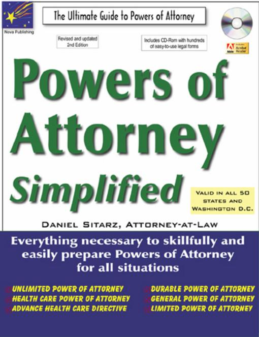 Powers Of Attorney: The Ultimate Guide EB9781892949677