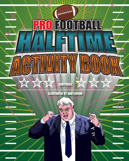 Pro Football Halftime Activity Book EB9781554909070
