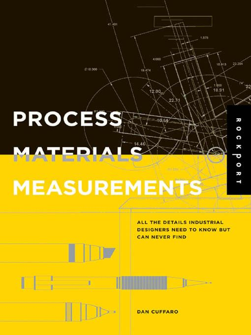 Process, Materials, and Measurements EB9781610601832