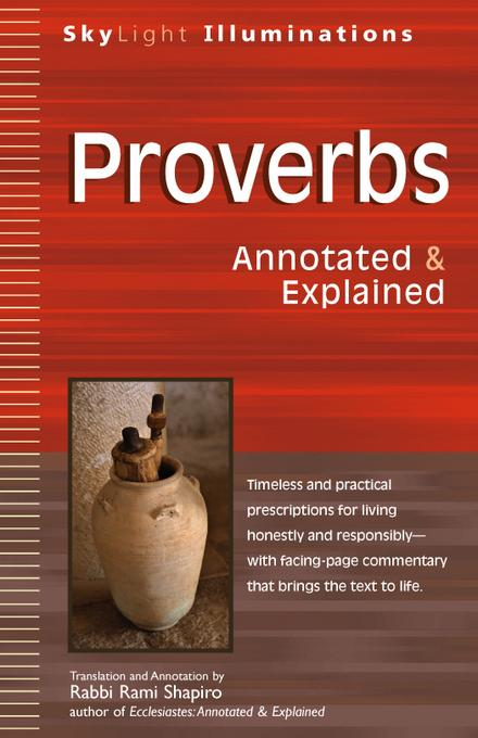 Proverbs: Annotated & Explained EB9781594733758
