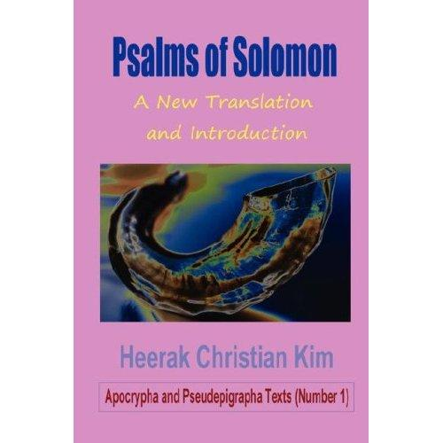 Psalms of Solomon: A New Translation and Introduction EB9781596891050