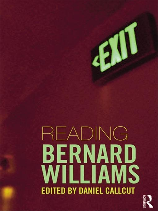 Reading Bernard Williams