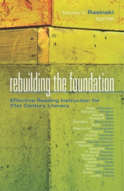 Rebuilding the Foundation EB9781935543510
