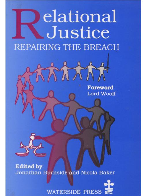 Relational Justice: Repairing the Breach EB9781906534400