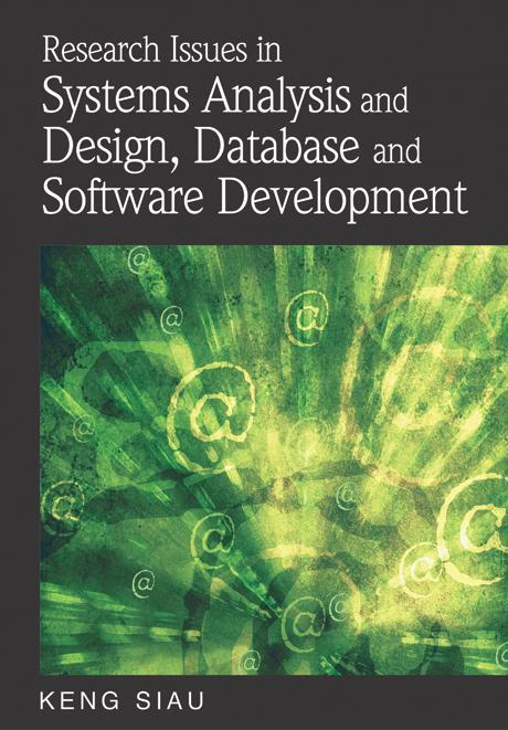 Research Issues in Systems Analysis and Design, Databases and Software Development EB9781599049281