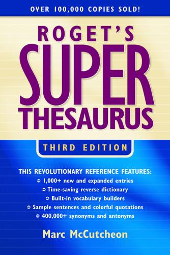 Roget's Superthesaurus EB9781582976525